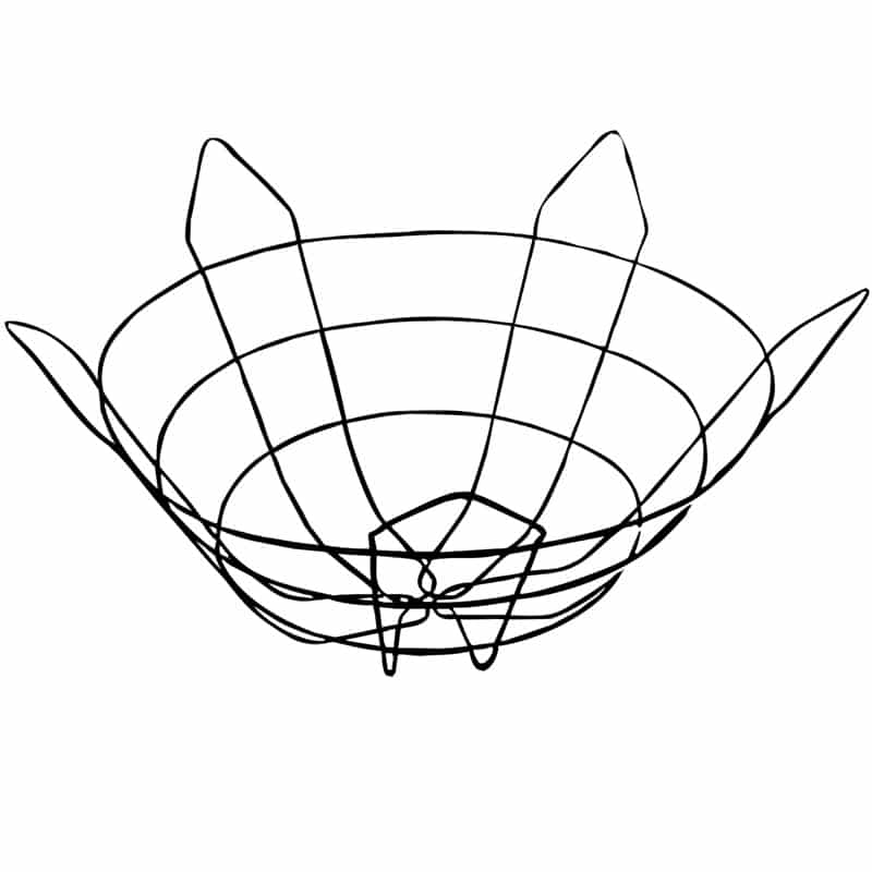 Optimal wire basket