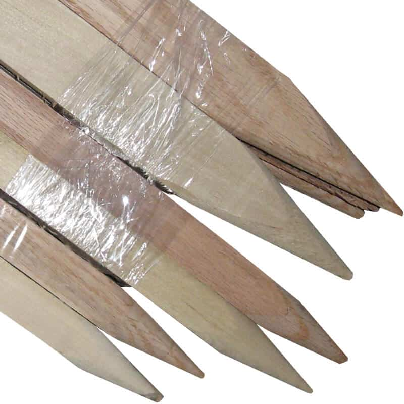 Steel Grade Stakes : Wood stakes and steel posts cherokee manufacturing