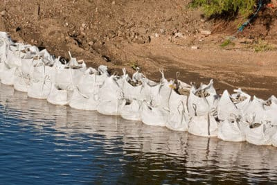 Bulk Bag Flood Control